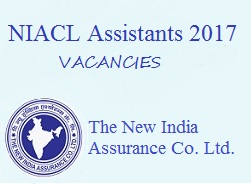 NIACL Assistant 2017 Recruitment 984 posts