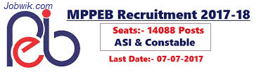 MPPEB Recruitment 2017