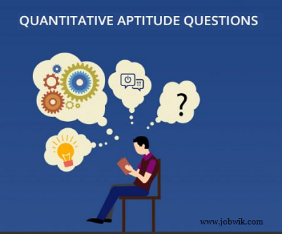 Quantitative Aptitude Questions 13th January 2019