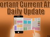 Daily Current Affairs 15th October 2019