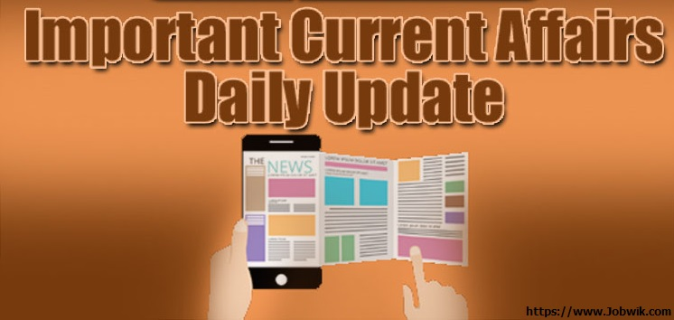 Daily Current Affairs 13th April  2019