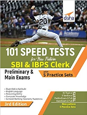 Free Disha 101 Speed Tests for IBPS & SBI pdf