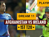 Afghanistan Vs Ireland 1st t20