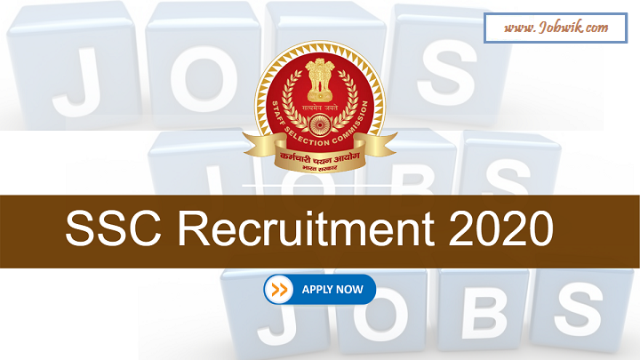 SSC Constable Recruitment 2020 – 5846 Posts Apply Online