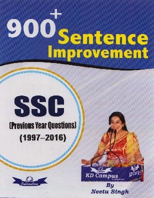 900+ Sentence Improvement pdf by Neetu Singh