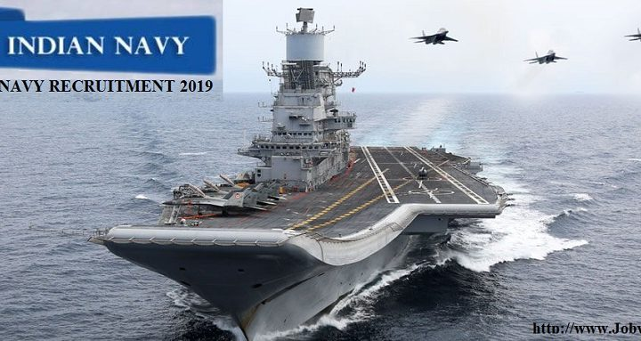 Indian Navy Recruitment 2019 – Commission Officer Posts