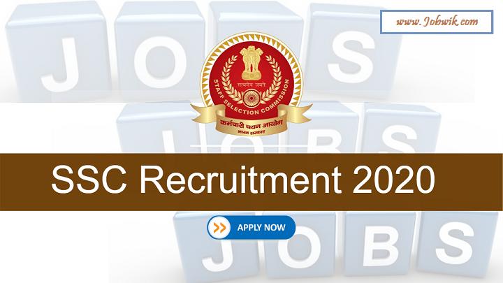 SSC Constable Recruitment 2020 – 5846 Posts Apply Online